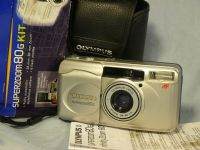 '   Superzoom 80G ' Olympus SuperZoom 80G Quality Compact Camera + Inst + Case Boxed £9.99